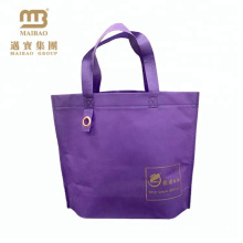 elegant design hand length handle non woven tote bag for clothes