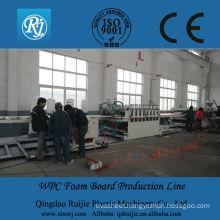 wpc foam sheet production line PVC/PE building formwork
