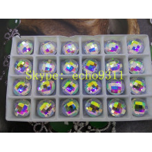 Ab Flat Back Mirror Glass Stones Garment Beads (DZ-1031th)