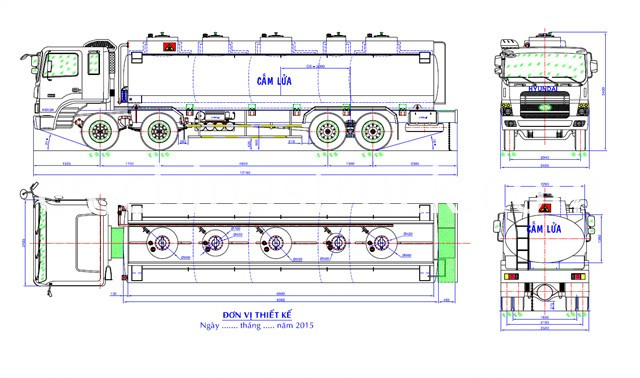 HD320 chemical tanker custom design