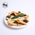 Mezcla baja en grasa Mezcla de verduras fritas al vacío