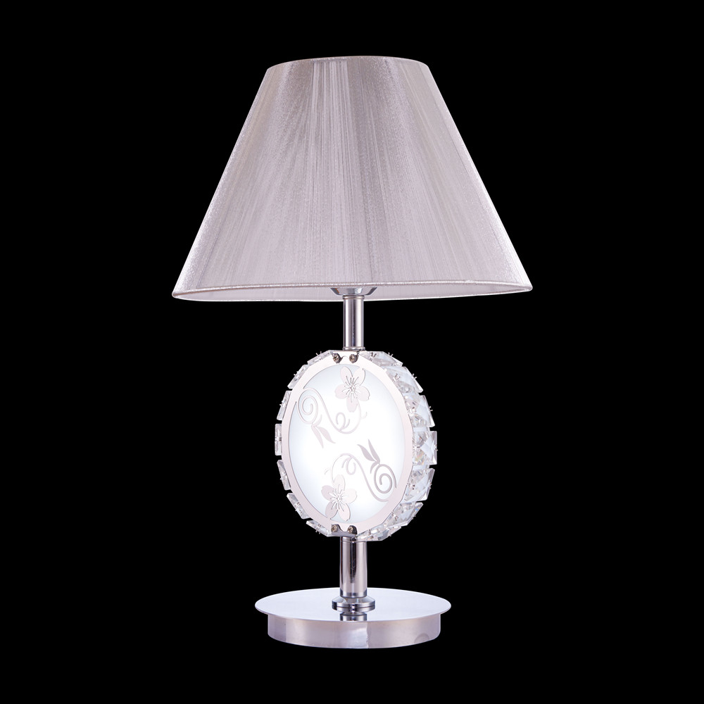 String Shade Modern Crystal Table Lamp