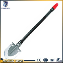 rotate multifunction folding plastic handle small shovel