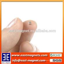 1/16 '' ímã do cubo para o ímã pequeno feito-à-medida / minúsculo do neodymium para a venda