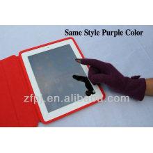 Guantes de lana de pantalla táctil