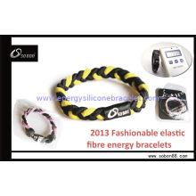 Hight Elastic Braided Rope Bracelet / Charm Gift Sport Bracelet At Lower Price