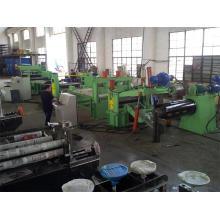 Sh0.3-3X1250mm Simple Hydraulic Slitting Line