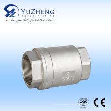 Вертикальный обратный клапан из нержавеющей стали H12W