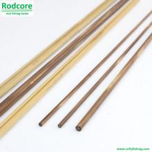 7ft6in 4wt Mão Feito Splitted Tonkin bambu Fly Rod em branco