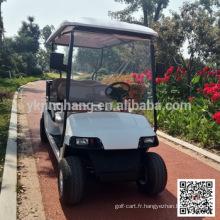 Chariot de tourisme de golf actionné par essence de 4 passagers avec la certification de la CE
