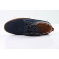Стильная подлинная замшевая кожа зашнуровать стиль мужчины обувь
