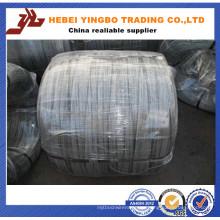 Bwg 12 14 16 18 alambre de hierro galvanizado sumergido / eléctrico caliente hecho en China (fábrica real)