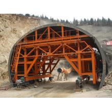 Système de coffrage de chariot de revêtement de tunnel ferroviaire