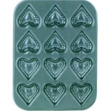 Сердце форму металлический Non-Stick торт хлеб плесень