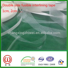 Web type hot melt glue tape Double side fusible interlining tape