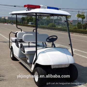 4 + 2 Sitze Polizei Golfwagen