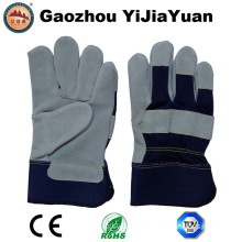 Ce En388 Leather Working Work Gloves From Gaozhou Manufacture