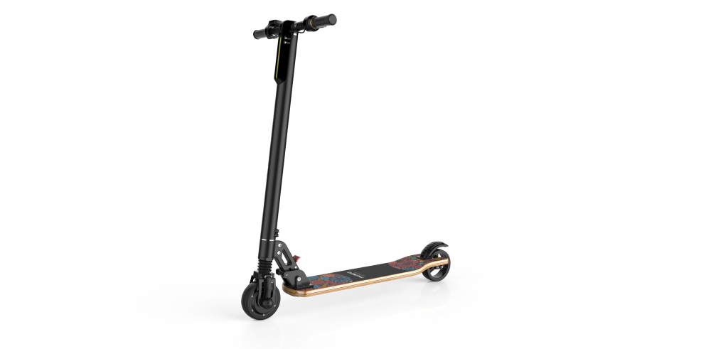 Lever-activated System Electric Scooter