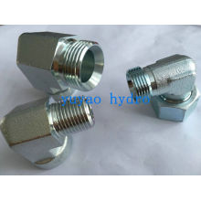 Hydraulic Jic 90-Degree Tube Connector Fitting