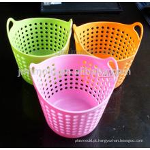 Molde de balde plástico OEM para roupas usadas