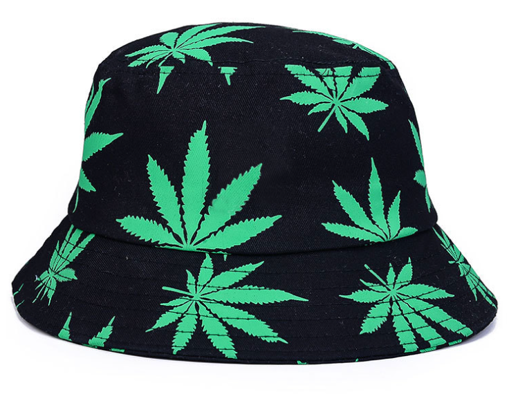 Printing Woven Bucket Hat Green