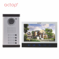 apartments wired Video Door Phone 7Inch Intercom System