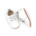 Cuero genuino Fancy Wholesale Soft Sole Baby Shoes