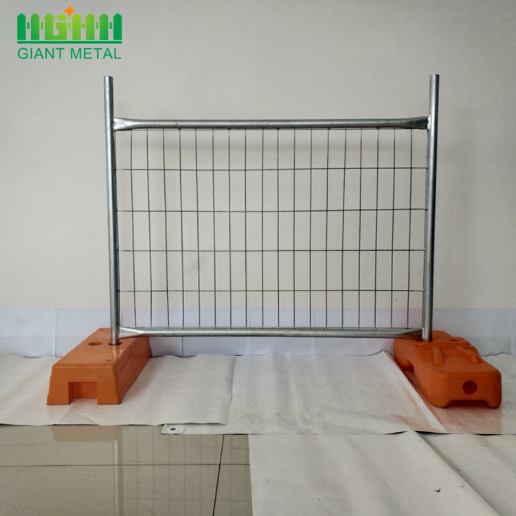 Galvanized PVC Coated Temporary Fence For Australia