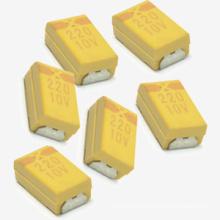 Condensador de tántalo caliente de la venta 220 10V SMD Tmct02