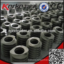 twin screw compouding extruder building block screw element