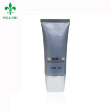 BB cream clear tubo de plástico tubo oval de plástico transparente 80 ml