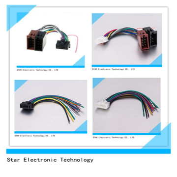 OEM Factory Price Auto Pioneer Car Radio Stereo Connector Wire Harness