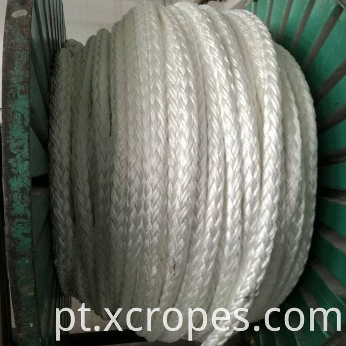 12 Strands Braided UHMWPE Rope