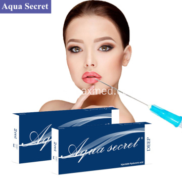 Anti-penuaan Hyaluronic Acid Injection Gel Dermal Filler