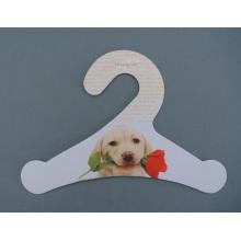 Eco-Friendly Fsc papel cartão Pet papelão impresso cabide de roupa