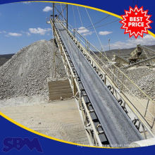 Large Capacity conveyor belt for construction
