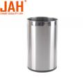 JAH Decorative Metal Small Trash Can Wastepaper Basket