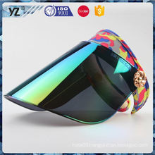 Factory direct sale custom design pvc sun visor cap Fastest delivery