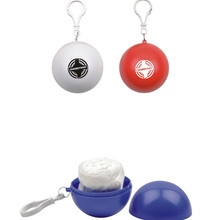 Promotional Rain Poncho Balls W/ Low MOQ 100pcs