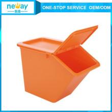 Горячая Продажа 225*410*280 Желто-Оранжевая Пластиковая Коробочка