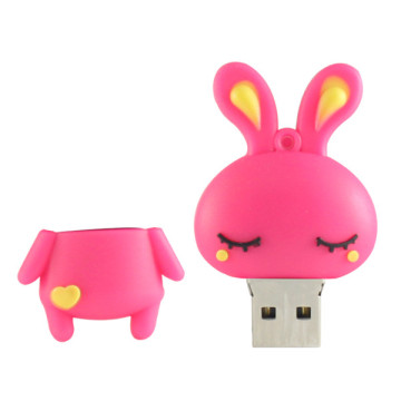 Cute Rabbit Cheap Novelty Usb Flash Drives