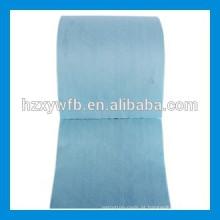 Enrolamento transversal / rolo não tecido da tela de Spunlace da polpa de madeira do poliéster viscoso paralelo