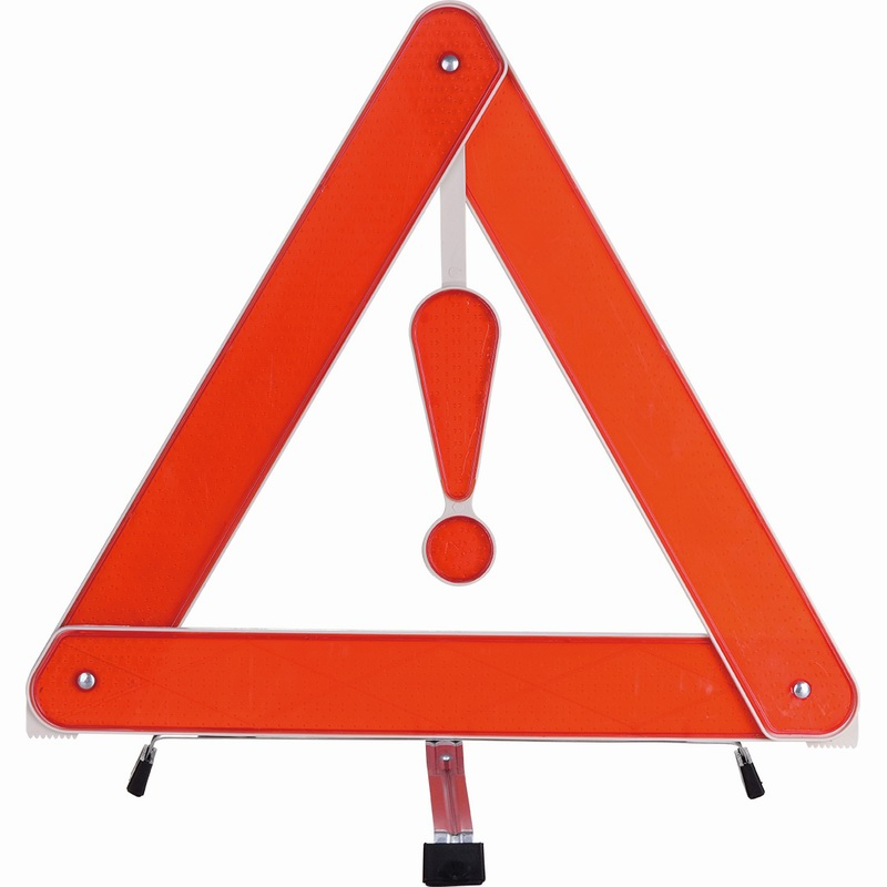 safety reflector warning triangle