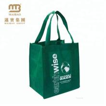 Luxury production non woven quality slogan tote non-woven shopping bag