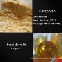 Poudre stéroïde crue de Parabolan Trenbolone Cyclohexylmethylcarbonate Parabolan 23454-33-3