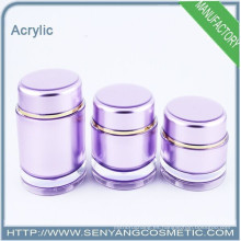 Cajas de acrílico con tapas tarro de crema frasco de acrílico cosméticos