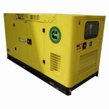 225kVA Cummins Grupos 50/60Hz Rated Frequency Silent Generator, outdoor polyester powder coating