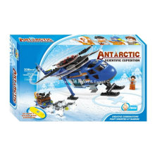 Boutique Building Block Toy-Antarctic Expedition Scientifique 08 avec 3 Personnes