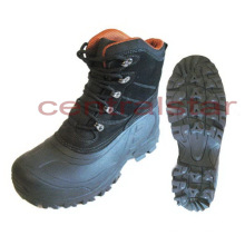 Fashion Waterproof Leather Snow Boots (SB026)