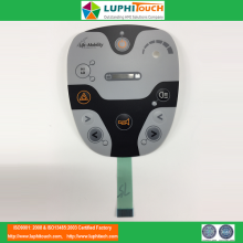 Physiotherapy Device LED Backlighting Membrane Switch